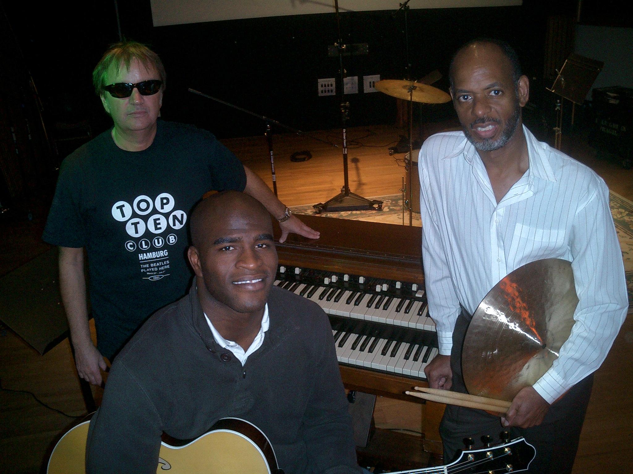 Eric Scortia, Joel Cross, Alan Green